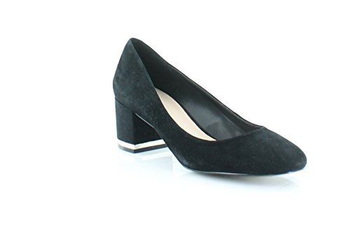 ALDO Womens Falia Closed Toe Classic Pumps, Black Suede, Size 7.0