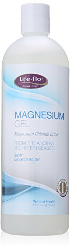 Life-Flo Magnesium Body Gel, 16 Ounce