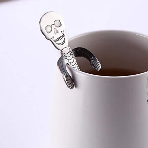 Amazon.com: newkelly cuchara de café té de acero inoxidable ...