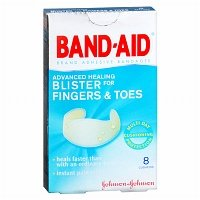 Band-Aid Advanced Healing Blister for Fingers & Toes, Cushions - 2pc (Band Aid Advanced Healing Blister Cushions)