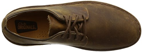 Clarks Scarpe Desert Uomo Beeswax Basse Stringate London Derby Marrone Originals rqrp4