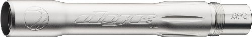 Dye Precision UltraLite Boomstick .692-Inch Paintball Barrel Back Auto cocker Threads, Clear ()