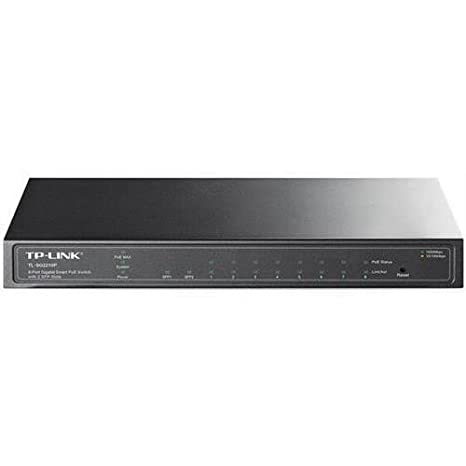 TP-Link 8-Port Gigabite PoE Smart Switch with 2 SFP Slots - 10 100 1000Base-T 1000Base-X Network Interface Cards at amazon