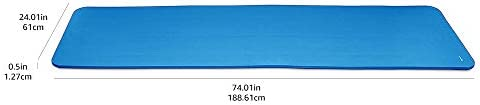 Amazon Basics 1/2-Inch Extra Thick Exercise Yoga Mat