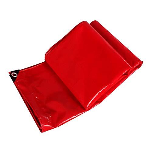 QINCH Regenfestes Tuch wasserdicht Rote Plane Hochzeit Schuppen Tuch Sonnenschirm Leinwand wasserdicht Sonnencreme regendichte Wärmedämmung (Farbe   A, Größe   2  2)