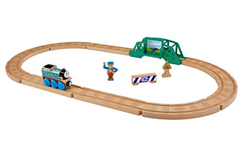 Fisher-Price Thomas & Friends Wood, 5-in-1 Builder Set
