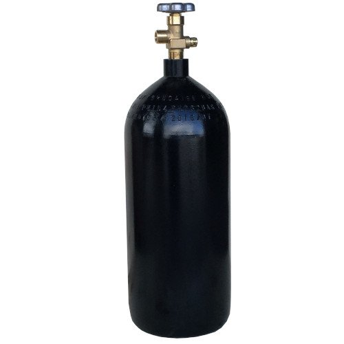 New 40 cu ft Steel Oxygen Cylinder with CGA540 (Steel Oxygen Cylinders)