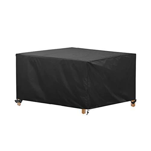 Awnic Funda de Muebles de Jardin Funda para Mesa Silla Jardin ImpermeableTela Oxford Resistente al Desgarro 170X115X71cm