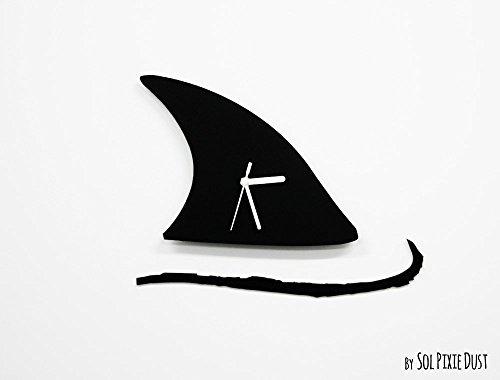 Jaws Shark Minimalist Film Silhouette - Wall - Solid Steven Wood