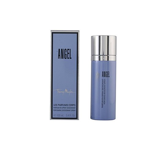 Price comparison product image Thierry Mugler Angel Deodorant Spray for Women, 3.4 Ounce