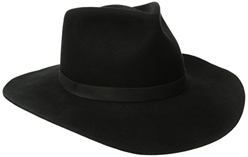 Kakadu Traders Australia Justin Wool Felt Hat, Black, Small