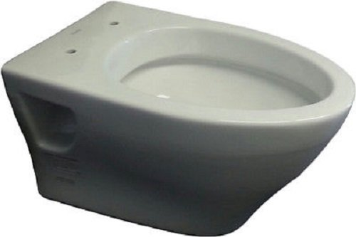 Toto CT418FGNo.01 Aquia Wall-Hung Dual-Flush Toilet, 1.6-GPF