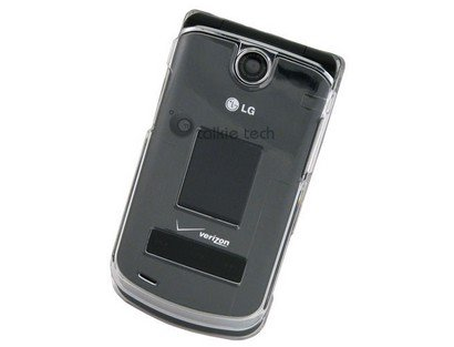 Reinforced Plastic Phone Protector Case Cover Clear For LG VX8600