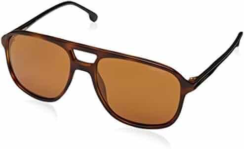 9b9caa2d0c Carrera 173 S 086 K1 Dark Havana Plastic Aviator Sunglasses Gold Mirror Lens
