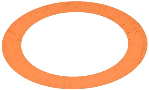 """Polyester Round Shim, Amber, 0.001"""" Thickness, 2"""" ID, 2-3/4"""" OD (Pack of 10)"""