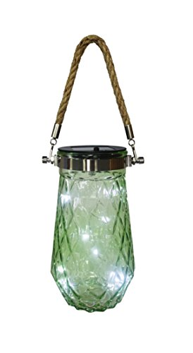 Inspire and Imagine LED Solar Glass Jar Light Inside Outside Decor (green) by Inspire and Imagine