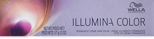 Wella Illumina Permanent Creme Hair Color, 8/38 Light Blo...