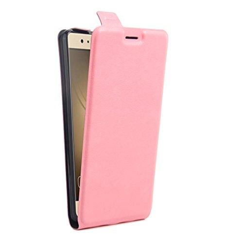 Funda Huawei P9,Manyip Caja del teléfono del cuero,Protector de Pantalla de Slim Case Estilo Billetera con Ranuras para Tarjetas, Soporte Plegable, Cierre Magnético G