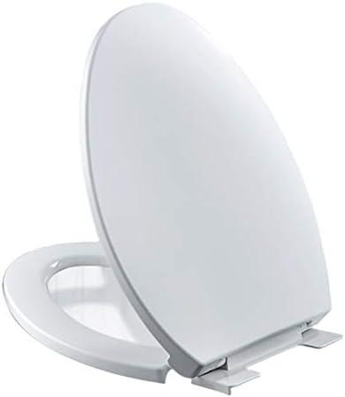 白いV字型便座、PP素材のソフトクローズアンドクイックリリース、ほとんどの標準的なトイレに適しています