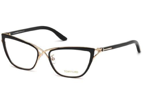 TOM FORD FT5272 Eyeglasses Frame Shiny Black (005) TF5272 ...
