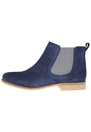 Apple of Eden Damen Chelsea Boots Manon Einsätze Dark Blue