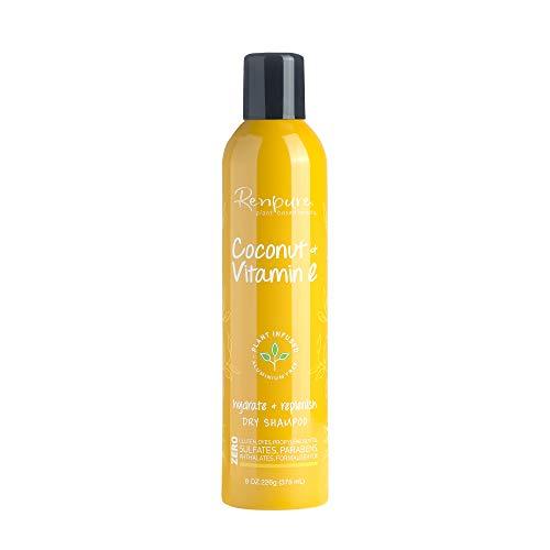 Renpure Coconut Vitamin E Dry Shampoo, 8 Ounce