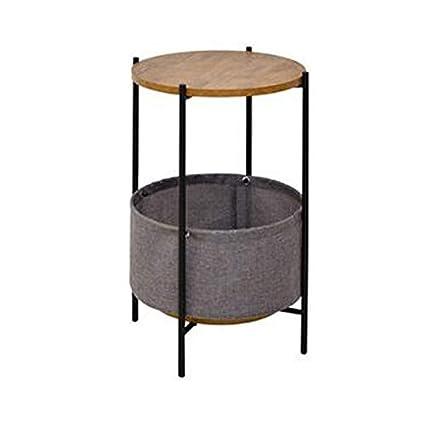 Amazon Com Coffee Table Storage Basket Multifunctional Solid Wood
