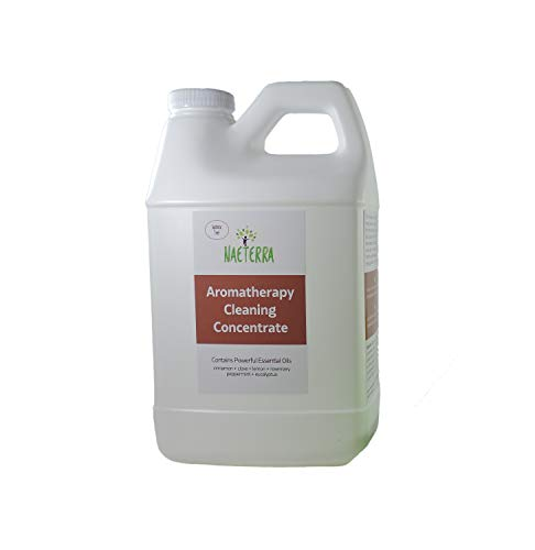 64 Oz Makes up to 24 Gallons-Naeterra 4 Thieves Aromatherapy Cleaning Concentrate - Multi-Purpose Plant Based Non Toxic Household Cleaner - Buy Manufacturer Direct & Compare to Any Thieves Brand