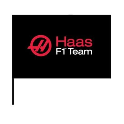 Used, Haas F1 Team Logo Flag for sale  Delivered anywhere in USA