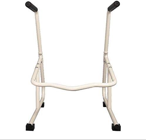 LXT PANDA Rotaie di Sicurezza della Toilette Guida della Toilette da Sola con Installazione Facile Sedile della Toilette del Bagno per Anziani Soffritori di artrite Recupero di chirurgia ferita.