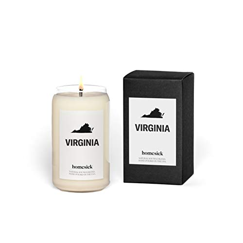 Homesick Scented Candle, Virginia (2020 Version)