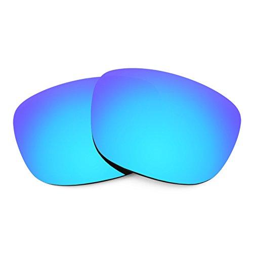 Verres de rechange pour Electric Knoxville — Plusieurs options Polarisés Elite Bleu Glacier MirrorShield®