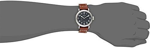 43c17aac332 Zenith Men s 031930681.21C Pilot Analog Display Swiss Automatic Brown Watch