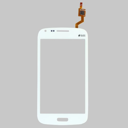 Generic Touch Screen Digitizer Outer Glass Replacement (LCD Display not included) for Samsung Galaxy Core Duos i8262 White