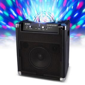 Amazon Com Ion Block Party Rechargeable Portable Speaker