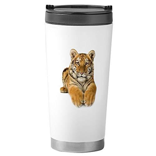 Stainless Steel Travel Drink Mug Bengal Tiger Youth