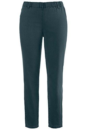 Overdyed Popken Skinny Women's Jeans Petrol Dark Ulla Jeggings Gürtelschlaufen Mit t7ZHw