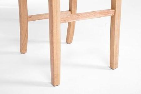 Clp sgabello alto bar alvin fodera in similpelle e telaio in legno