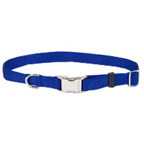 Coastal Pet 61601 A BLU18 Adjustable Dog Collar, 3/4-Inch, Blue
