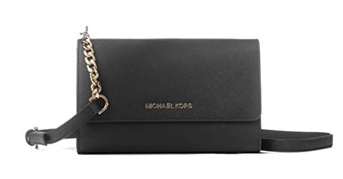 Michael Kors Women's Jet Set Travel - Clutch Crossbody No Size (Black)