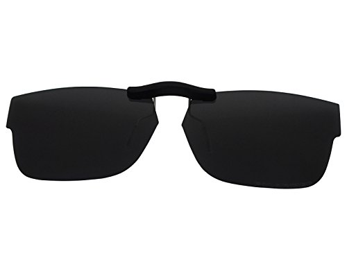17f43b802b59c Custom Fit Polarized CLIP-ON Sunglasses For Ray-Ban RB5268 50X17 Black -  Buy Online in Oman.