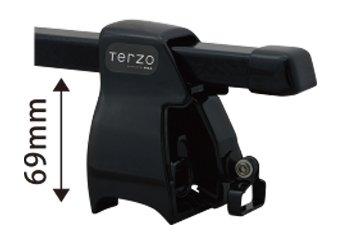 TERZO スバル レガシィアウトバック H26.10~ BS9 品番:EF-JR/EB2/JR1 ベースキャリア 1台分セット B071K5RJ3N