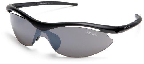 (Tifosi Slip T-I045 Matte Black Sunglasses, Frame/Grey Lens,)