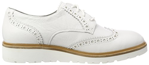 Wing Blanc Ellis Tip Blanco Street Timberland L77 de para Zapatos Oxford Mujer Blanc Cordones de UTEqdwxRg