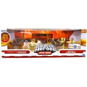 (Star Wars Galactic Heroes Exclusive Deluxe Cinema Scene Mini Figure Multi Pack Purchase of the Droids)