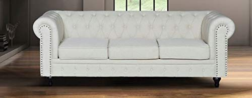 GINER Y COLOMER Sofa Chester 3 plazas Laura: Amazon.es: Hogar