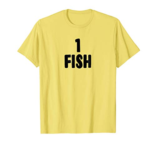 One Fish Halloween Costume T-shirt for Groups of -