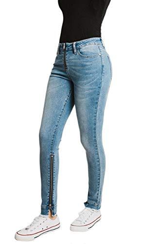 Mashed Potatoes Jeans Women's Mid Rise Zipper Ocean 13