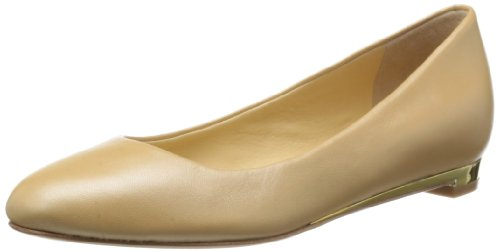 Cole Haan Women's Astoria Ballet Flat,Sandstone/Gold Washed,9.5 B US (Cole Haan Astoria Ballet compare prices)