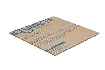 Plastic//Plexiglas//Lucite Falken Design falkenacrylic/_Clear/_177/_11x11 Acrylic Sheet Clear 11 x 11-3//16 HHC 11 x 11-3//16